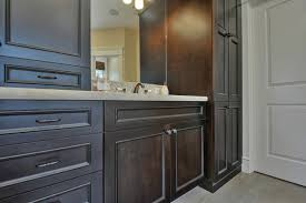 Maple Bathroom Vanity by Bathroom Design And Decoration Using Dark Grey Black Wood Maple