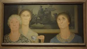 daughters of revolution grant wood