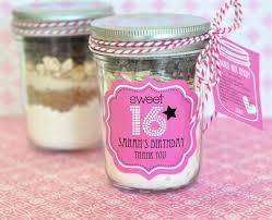 wedding favor jars sweet 16 or 15 mini jars