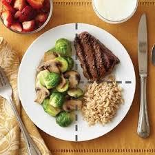 diabetic menus recipes 49 best plate method images on diabetic living