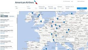 Alicante Spain Map by American Airlines U0027 New Award Flights Map