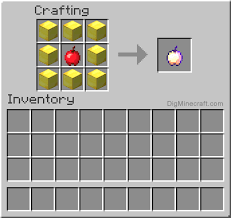 membuat id apple dari pc how to make an enchanted golden apple in minecraft