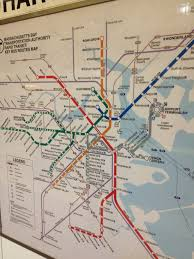 Mbta T Map Cognitive Cartography Transit Map Style Graphicarto
