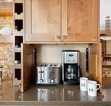 kitchen countertop storage ideas 40 appliance storage ideas for smaller kitchens removeandreplace