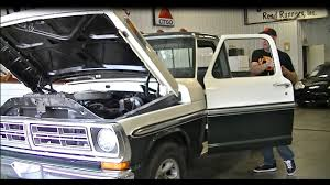 Old Ford Truck Engine Swap - 5 0l coyote engine swap f250 build how to f150 f100 1972 71 youtube
