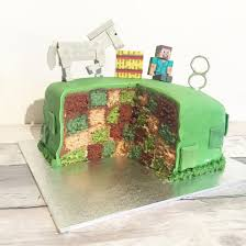 mine craft cakes inside minecraft cake