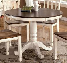 Pedestal Kitchen Table And Chairs - round pedestal kitchen table brown wooden floor brown wooden glass