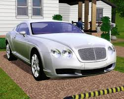 car bentley fresh prince creations sims 3 2010 bentley continental gt
