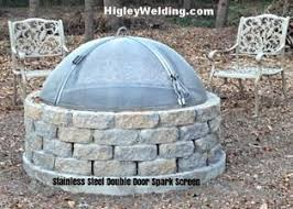 Higley Fire Pits by Fire Pit Spark Screens Info Pricing
