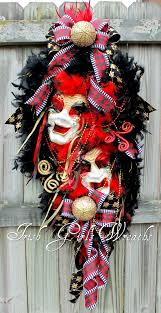 black and gold mardi gras girl s wreaths where the difference is in the details