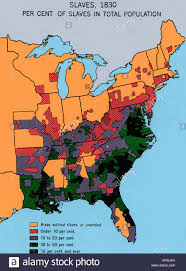 Florida Alabama Map by Map Depicting Density Of Slavery In Theusa In 1830 Shows Chief