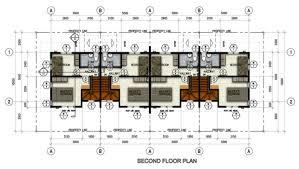 row house floor plan midori rowhouse second floor plan northfield residences