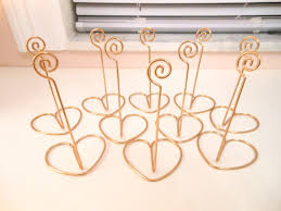 diy table number holders table design gold table number holders table number holders