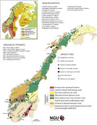 Rap Map Simpli Fi Ed Geological Map Of Norway Showing The Distribution