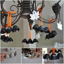 ideas diy egg bats decoration