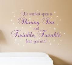 we wished upon a shining star and twinkle twinkle here you are wall decal nursery saying baby boy decals saying for girls wall decal nursery wall lettering nursery rhyme twinkle twinkle decals