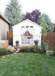 She Sheds A Cozy Cottage She Shed The Home Depot Blog
