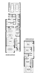 house plans for wide shallow block house design plans