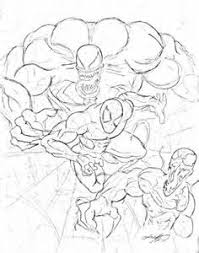 coloring pages coloring pages venom allcolored