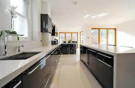 Kitchen Cabinets Omaha Kitchen Cabinets Black Scandinavian With Downlights Transitional