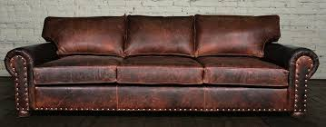 Chesterfield Sofa Restoration Hardware by Lancaster Leather Sofa Set Centerfieldbar Com