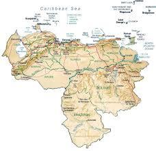 Bonaire Map Map Of Venezuela By Phonebook Of Venezuela Com