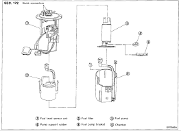 fuel filter location where is the fuel filter on a 2001 nissan
