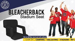 Stadium Bench Amazon Com Stadium Bleacher And Bench Seat Chair With Padded