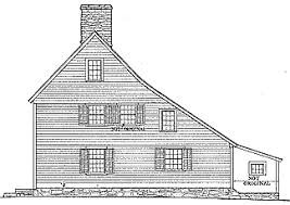 Build Small Saltbox House Plans by Colonial Houses