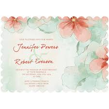 mint and watercolor flower themed bracket shaped wedding