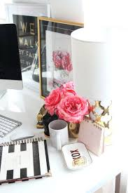 office design girly desk accessories