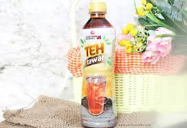 Teh Ichi ichitan teh tawar kemasan botol pertama di indonesia