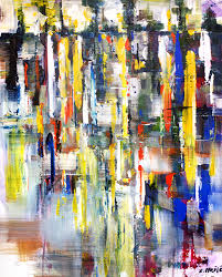 world beneath the sky abstract contemporary modern art painting