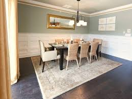wainscoting for dining room dining room with table wainscoting chic style ideas gray white