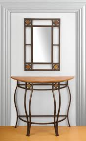 furniture entryway table and mirror set to decorate your