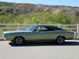 1968 dodge charger green sold 1968 dodge charger restored 3 owner documented selling
