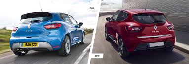 new renault megane renault clio facelift old vs new compared carwow