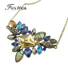 aliexpress necklace pendants images Aliexpress fashion colorful rhinestone necklaces jpg