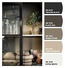 greige paint colors loving black fox for the bathroom color