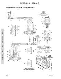 scissor lift parts diagram 97 upright scissor lift parts manual