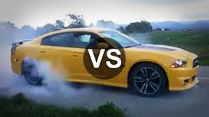dodge charger srt8 superbee dodge charger srt8 bee vs camaro ss race