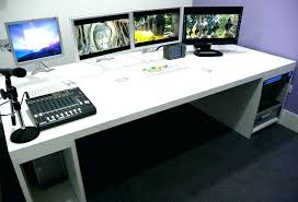 custom built computer desk plans desks case mod build desktop pc