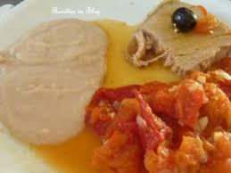 cuisiner haricots blancs thon aux tomates et poivrons et sa purée de haricots blancs recette