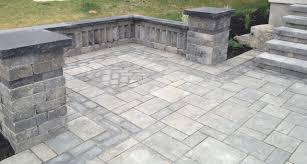 Stone Patio Design Interlocking Stone Traditional Patio Toronto By Platinum