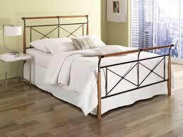 Wood And Iron Bed Frames Contemporary Iron Beds Cynthia Ajill