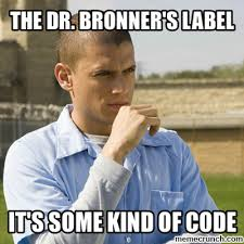 Prison Break Memes - bronner s prison break