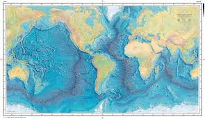 Mapping The World With Art by The First Map Of The Depths 1843