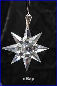 1991 swarovski ltd annual edition snowflake