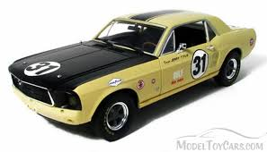 Yellow Mustang With Black Stripes 1967 Ford Mustang 31 Jerry Titus Yellow W Black Stripes