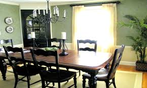 black painted dining chairs